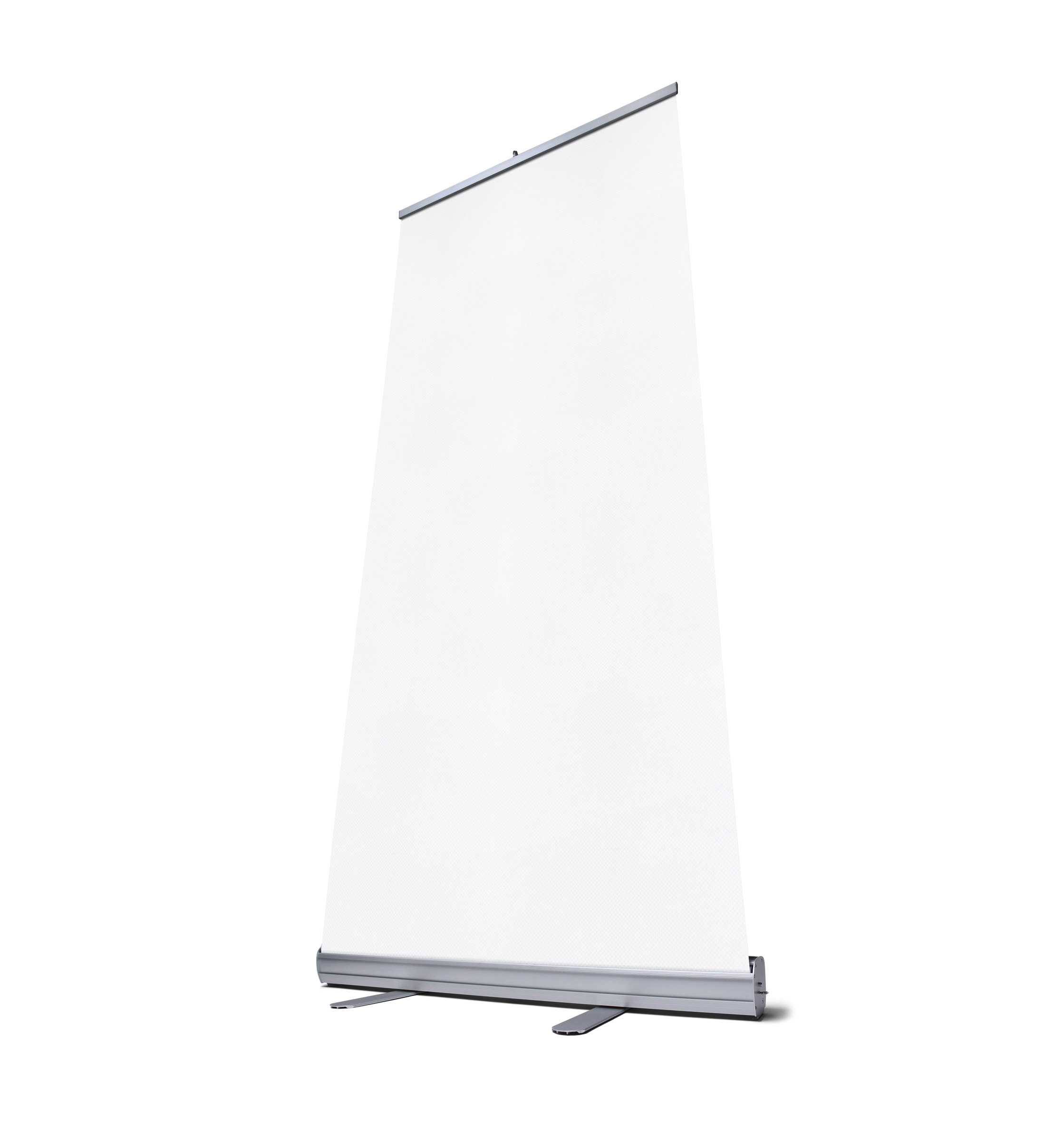 Roll-up banner Economy